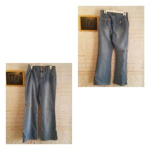 Forenza Vintage High Waisted Zippered Jeans